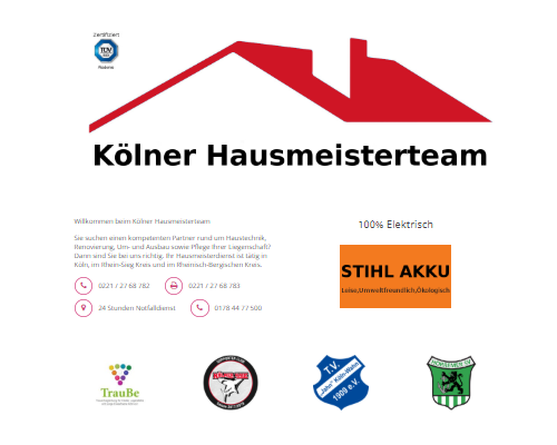 Kölner Hausmeisterteam
